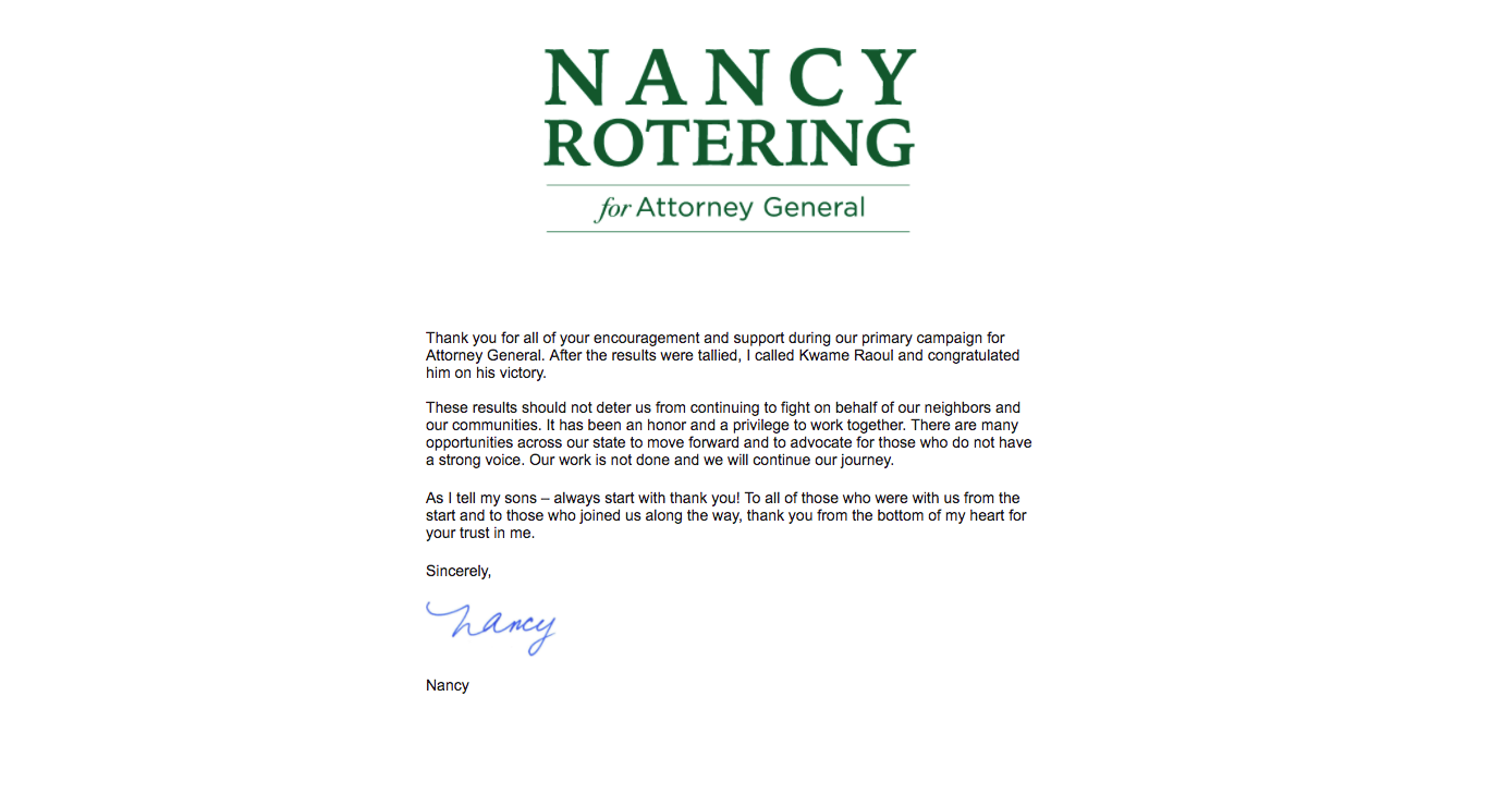 Thank You Letter Nancy